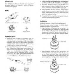 DJI Inspire 1 Propeller Installation Kits (1345 - 2 pcs CW+CCW))