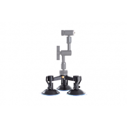 Triple Mount Suction Cup Base