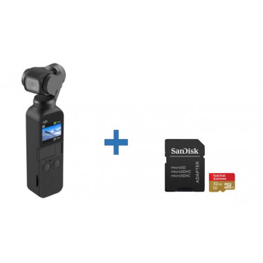 DJI Osmo Pocket+Micro SD...