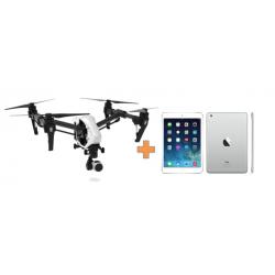 "Drone DJI Inspire 1 Versión 2.0 + iPad Mini 2 Retina 7,9"""