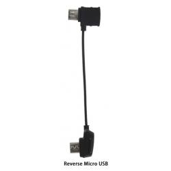 DJI RC Cable Reverse Micro USB Connector for Mavic Pro