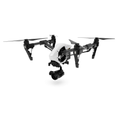 Drone DJI Inspire 1 PRO RAW X5R + iPad MIni 2 + Bat. Extra