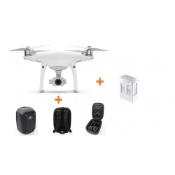 Drone DJI Phantom 4 PRO + 2 Bat. Extras + Car Charger + Mochila de REGALO